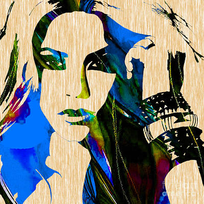 Shakira Collection Poster by Marvin Blaine