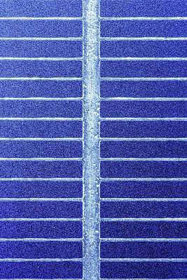 Solar Cell Poster by Alfred Pasieka