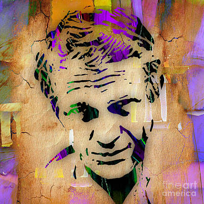 Steve Mcqueen Collection Poster by Marvin Blaine