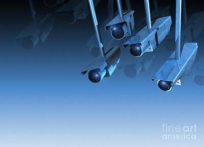 Surveillance, Conceptual Image Poster by Victor Habbick Visions