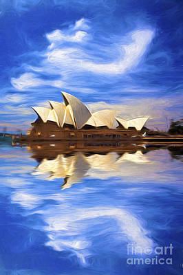 Sydney Opera House Poster by Avalon Fine Art Photography