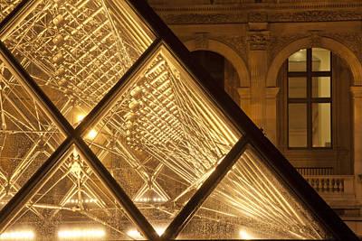 The Louvre Paris Poster