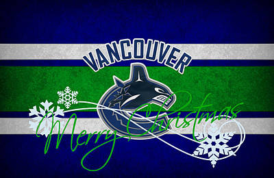 Vancouver Canucks Poster by Joe Hamilton