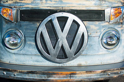 Volkswagen Vw Emblem Poster