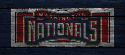 Washington Nationals Poster by Joe Hamilton