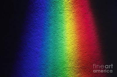 White Light Spectrum Poster by GIPhotoStock