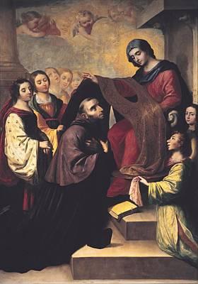 Zurbaran, Francisco De 1598-1664. Saint Poster