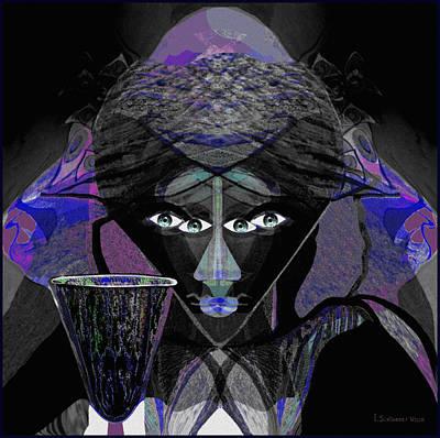 896 -  Darkness Poster by Irmgard Schoendorf Welch