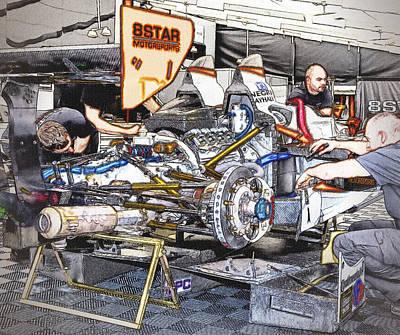 8star Motorsports Poster