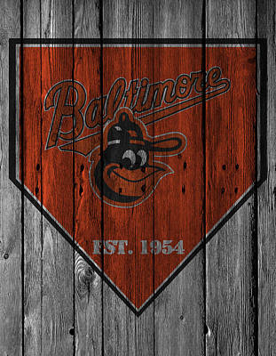 Baltimore Orioles Poster by Joe Hamilton