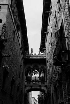 Barcelona - Urban Scene Poster by Andrea Mazzocchetti