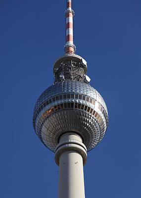 Berlin Tv Tower Poster by Falko Follert