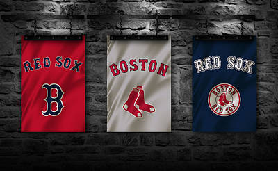 Boston Red Sox Poster by Joe Hamilton