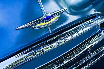 Chevrolet Grille Emblem Poster by Jill Reger