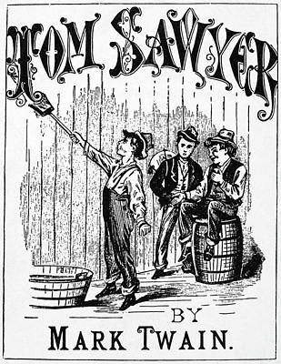 Clemens Tom Sawyer Poster by Granger