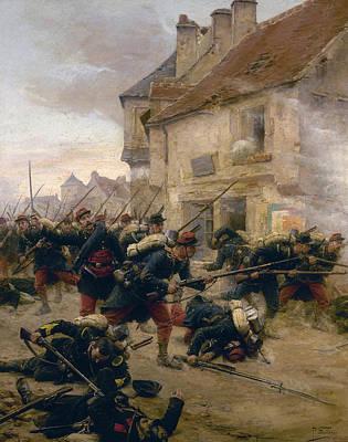 Franco-prussian War, 1870 Poster by Granger
