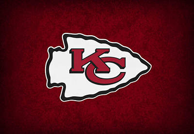Kansas City Chiefs Poster by Joe Hamilton