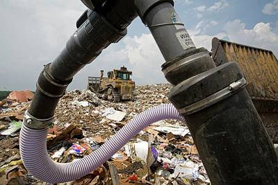 Landfill Gas Recovery Well Poster