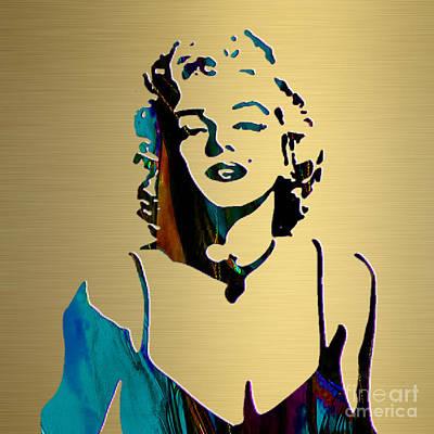Marilyn Monroe Gold Series Poster