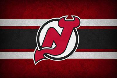 New Jersey Devils Poster by Joe Hamilton