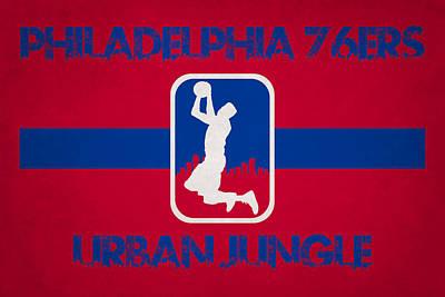 Philadelphia 76ers Poster by Joe Hamilton