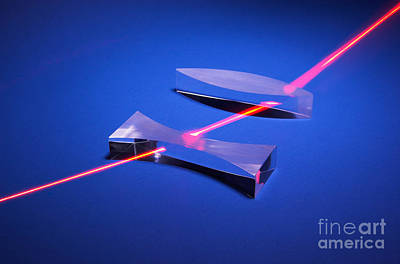 Refraction Poster by GIPhotostock