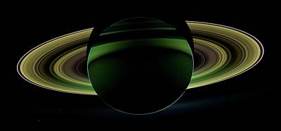 Saturn Poster by Nasa