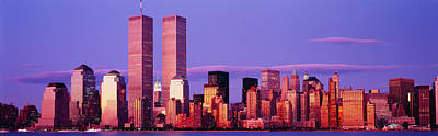 Skyscrapers In A City, Manhattan, New Poster by Panoramic Images
