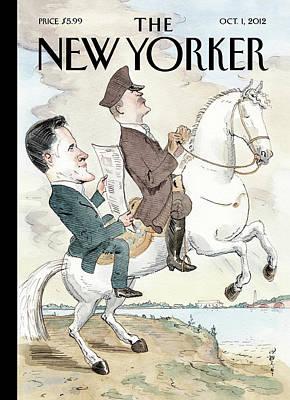 New Yorker October 1st, 2012 Poster by Barry Blitt