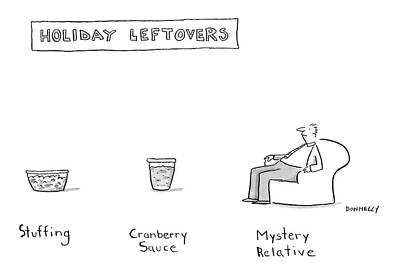 New Yorker November 26th, 2007 Poster