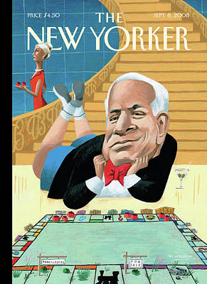 New Yorker September 8th, 2008 Poster by Mark Ulriksen