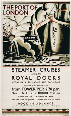 Vintage Posters Poster by Classic
