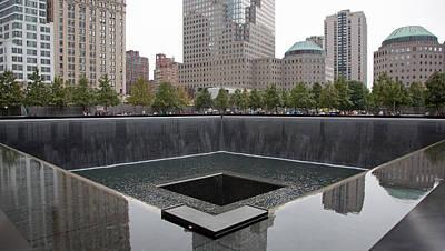 911 Memorial Pool Nyc Poster