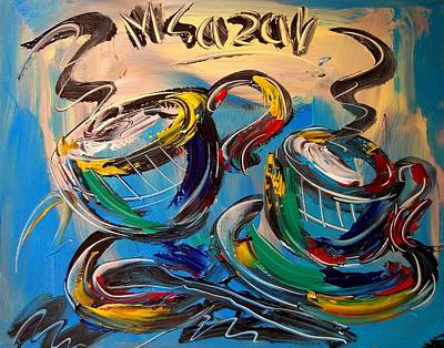 Coffee Poster by Mark Kazav