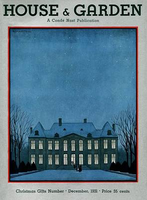 A 17th Century French Chateau Poster by Andr? E.  Marty