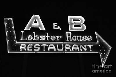 A And B Lobster House Poster by Rick Bravo
