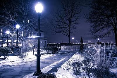 A Battery Park Winter Poster