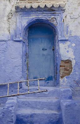 A Blue Door Chefchaouen Poster by Martin Turzak