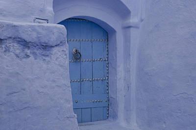 A Blue Door Poster by Martin Turzak