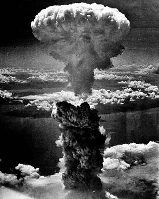 A-bomb Poster by Benjamin Yeager