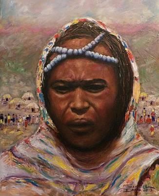 A Borana Lady. Poster