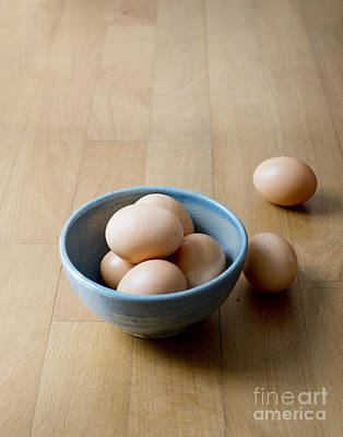 A Bowl Of Eggs Poster