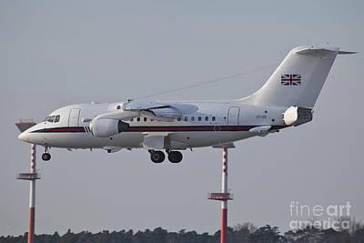 A British Aerospace 146 Jet Poster