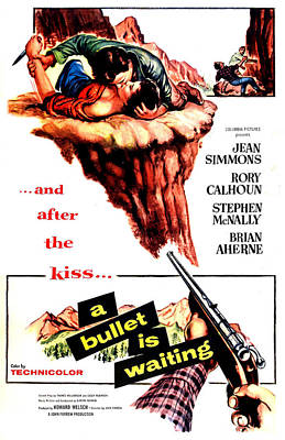 A Bullet Is Waiting, Us Poster Poster by Everett