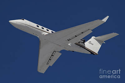 A C-20 Gulfstream Jet In Flight Poster