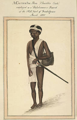 A Carnatic Peon Poster by British Library