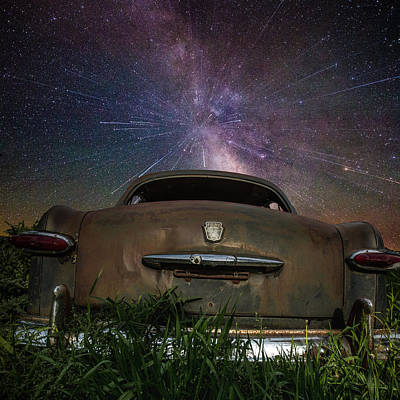 A Car's Dream... Poster by Aaron J Groen