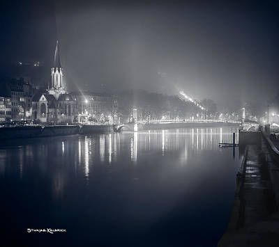 Poster featuring the photograph A Cathedral In The Mist II by Stwayne Keubrick