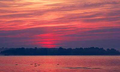 A Chesapeake Bay Sunrise Poster