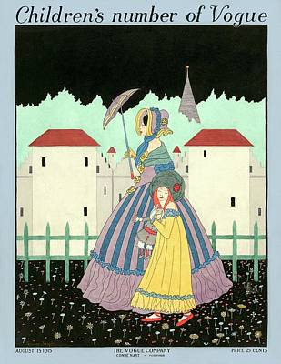 A Children's Number Of Vogue Cover Poster by Sydney Joseph